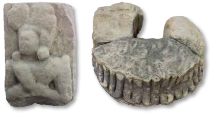 Trenches India Stone Capital Male Figure Block