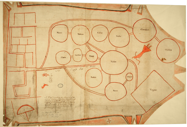 Catawba Map - Archaeology Magazine