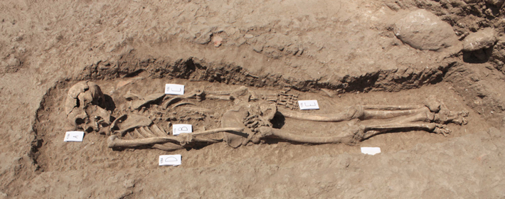 Trenches Italy Skeleton 2