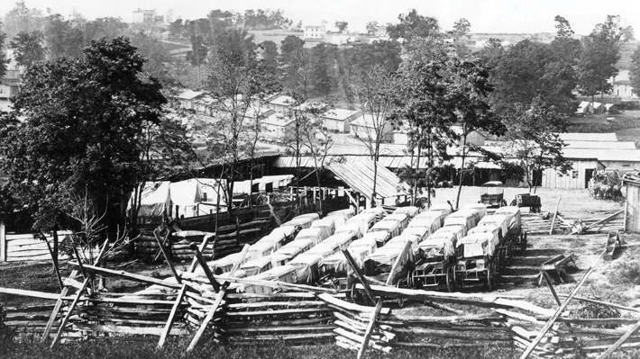 Camp Nelson Union Army Encampment