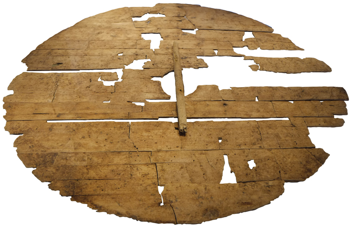 Weapons Denmark Viking Wooden Shield