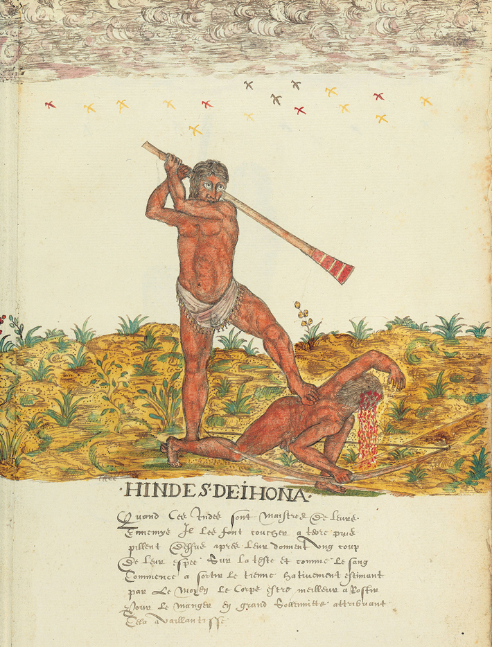 Weapons Illustration Drake Manuscript