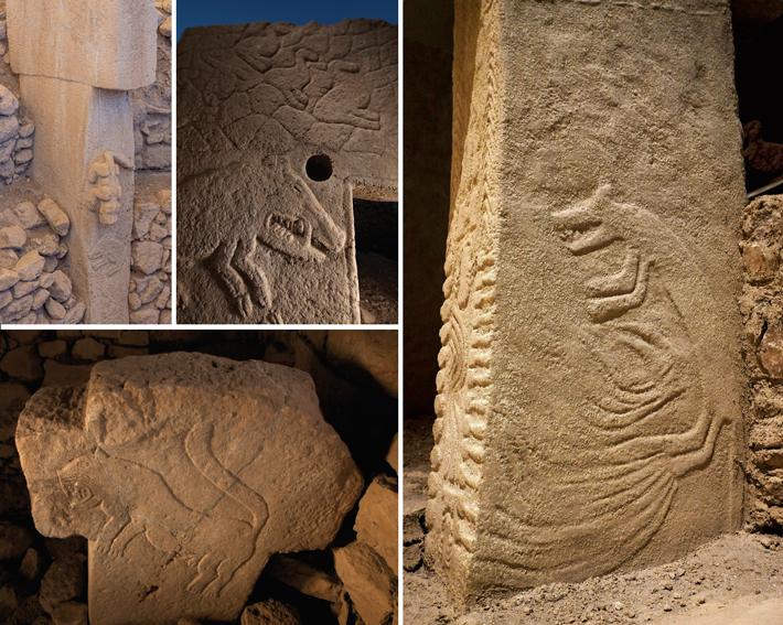 Gobekli Tepe Wild Animal Carvings