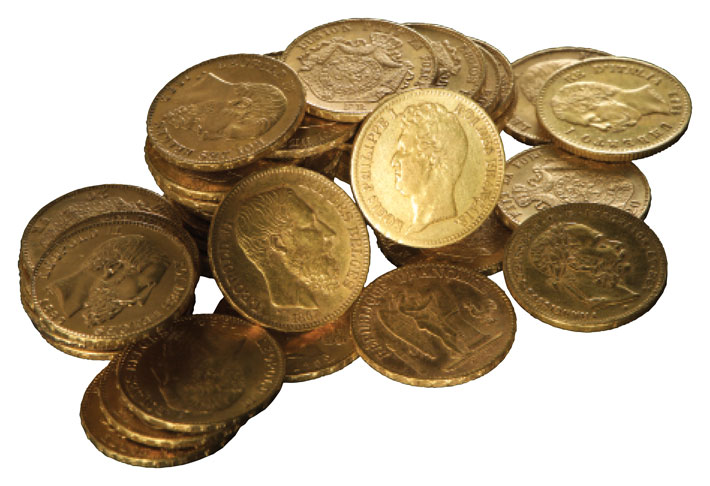 Trenches Germany Gold Coins