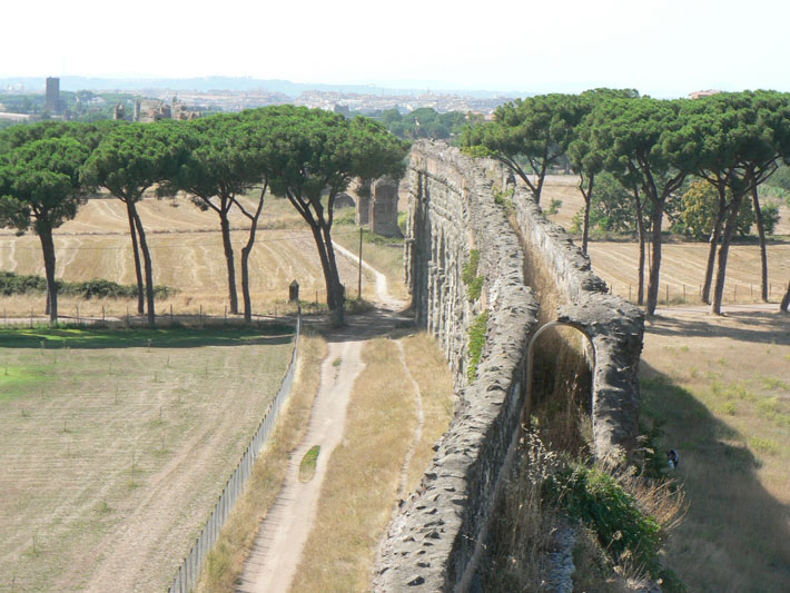 Trenches Rome Aqueduct