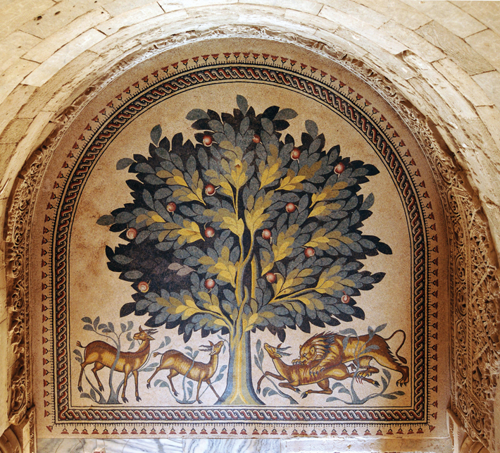 Khirbet Tree of Life Mosaic