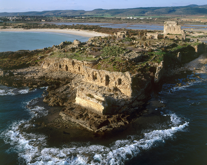 Crusaders Athlit Castle Shoreline