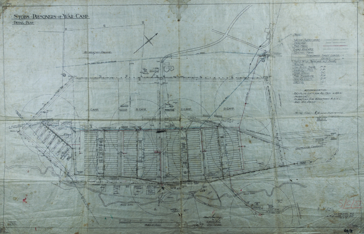 Heat Wave Scotland Hawick WWI Military Camp Plans