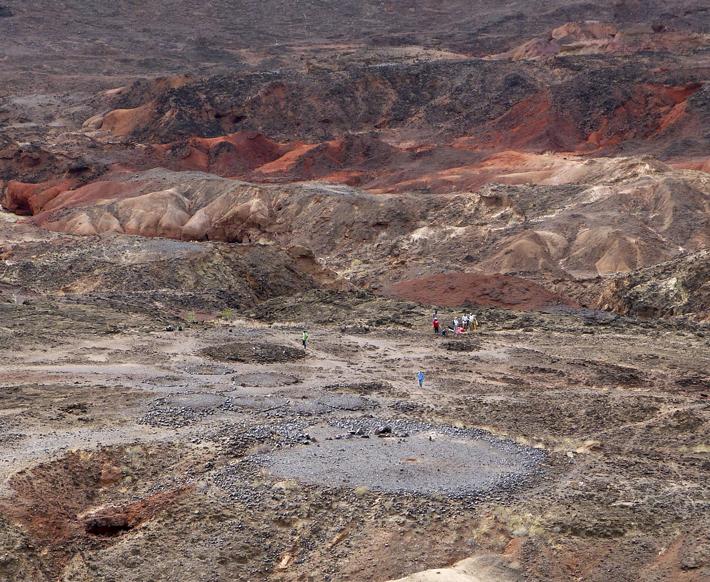 Trenches Kenya Lothagam North Pillar Site