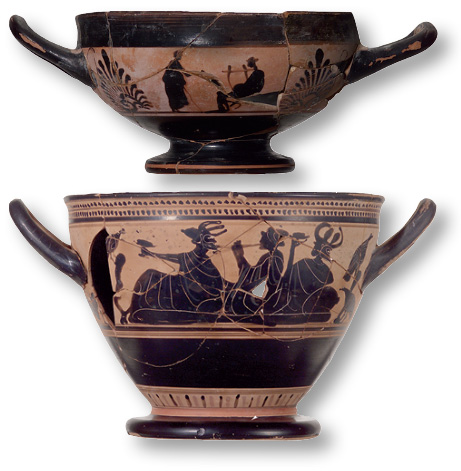 Alcohol Greece Kylix Skyphos
