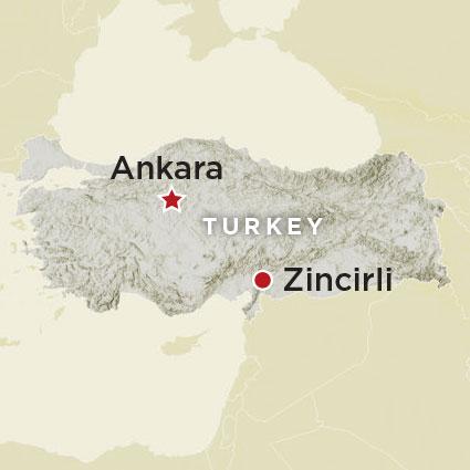 Artifact Zincirli Map
