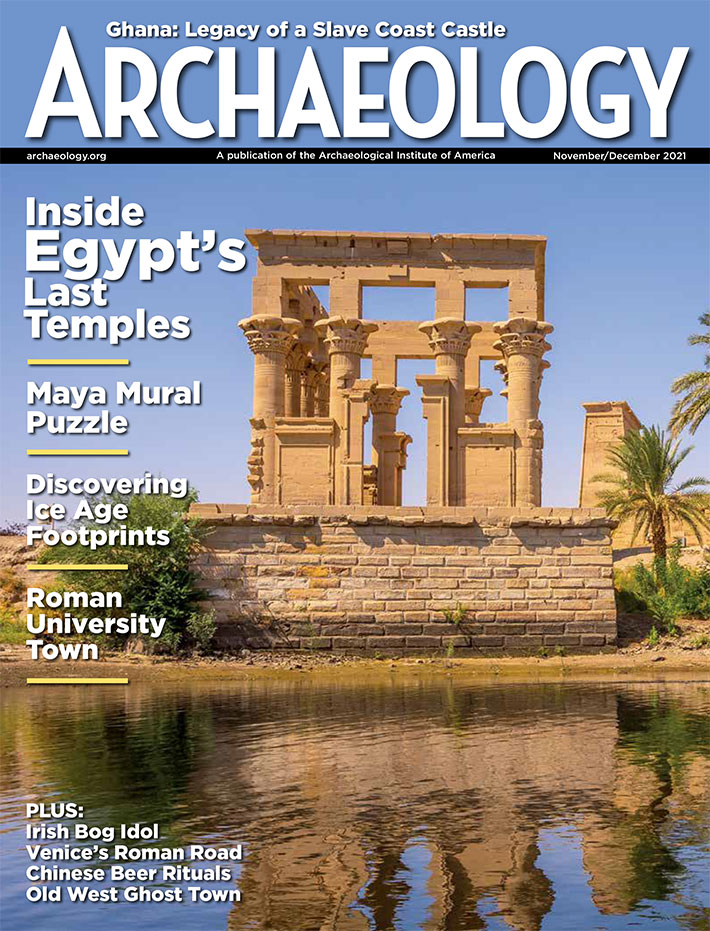 Archaeology Magazine September October 2019 cover