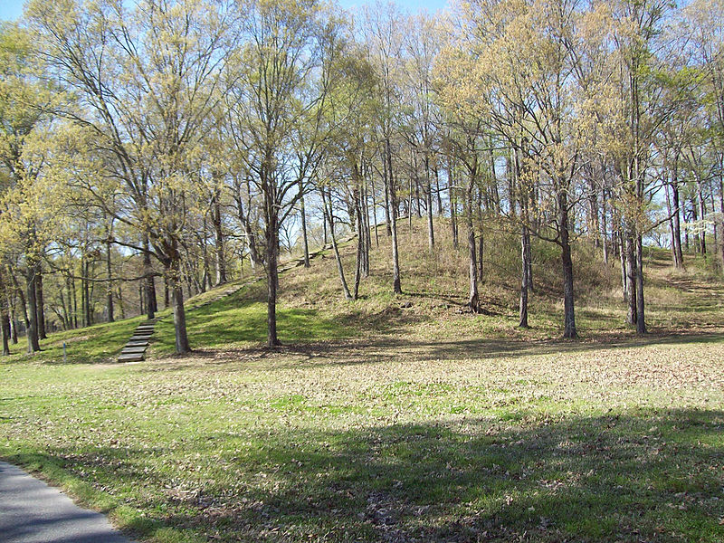 Mound A at Poverty Point