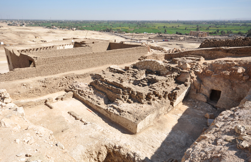 Pyramid of a Pharaoh's Vizier Found at Luxor