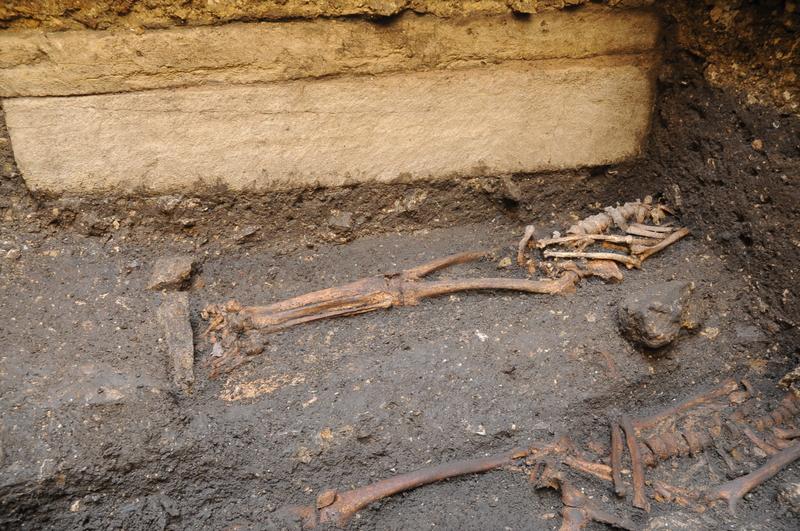 Saxon Sarcophagus Found at Lincoln Castle