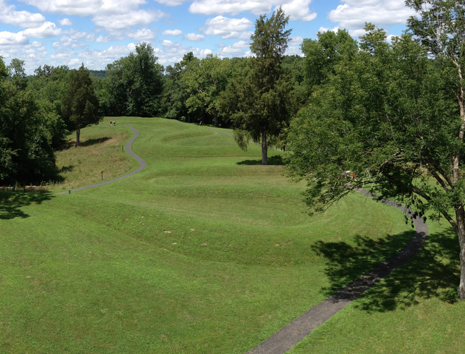 Who Built the Great Serpent Mound? Serpent_Mound_Dates