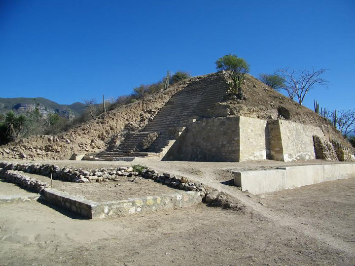 Shrine Dedicated to God of Death Unearthed in Mexico Temple_Skulls_Mexico