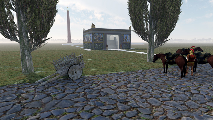 3-D Modeling Rewrites Significance of Roman Monuments
