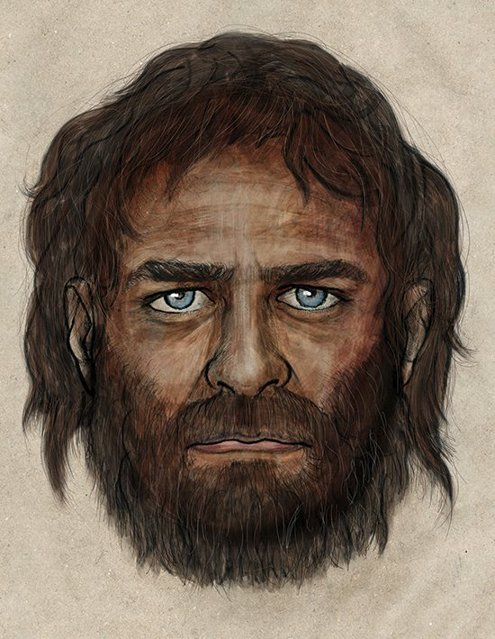 "Europe's Nomadic Hunter-Gatherers ""Look the Same"" Euroepan_DNA_Appearance"