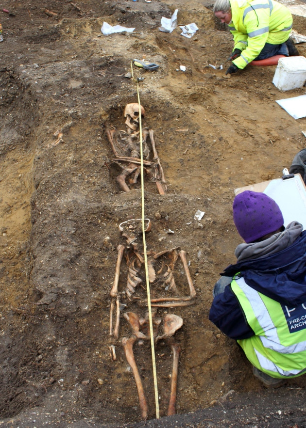 Saxon Burial Ground Uncovered