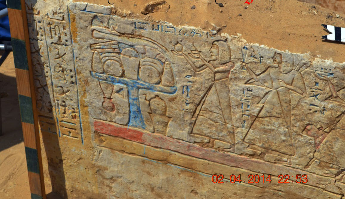 20th-Dynasty-Tomb-Wall