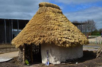 Neolithic Homes Recreated at Stonehenge Stonehenge-Hut-Recreation