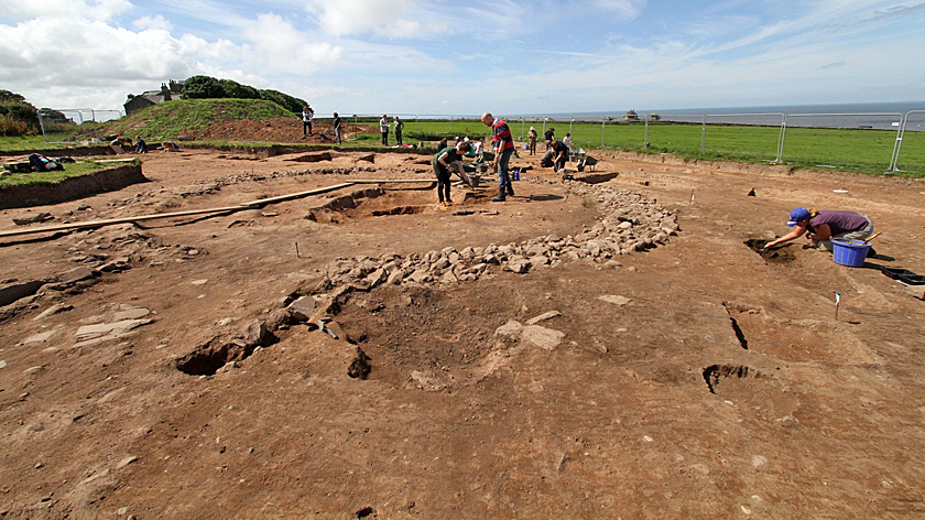 maryport roman fort temple