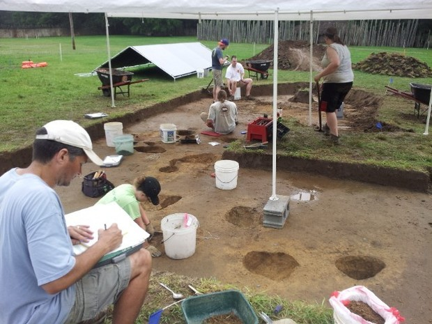 North-Carolina-Mississippian-Site