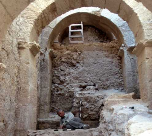 Royal Entryway Discovered at Herod's Palace - Archaeology Magazine
