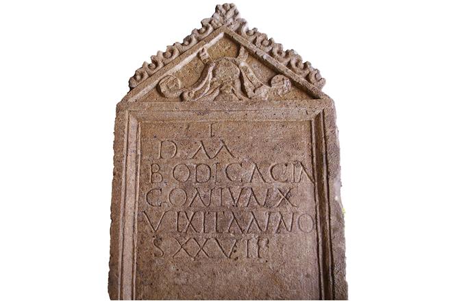 Cirencester Roman tombstone