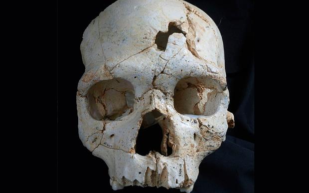 Spain cranium blows