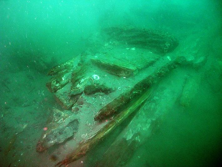 Kamikaze Shipwreck