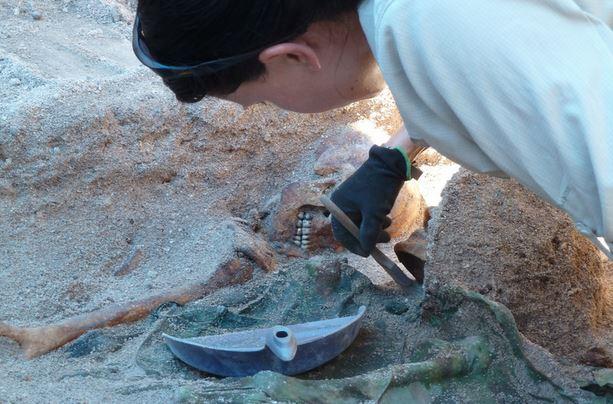 Remains of American Marines Recovered on Tarawa Atoll