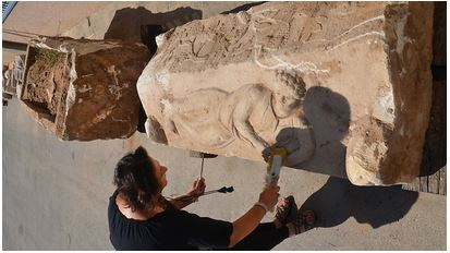 Israel Ashkelon sarcophagus