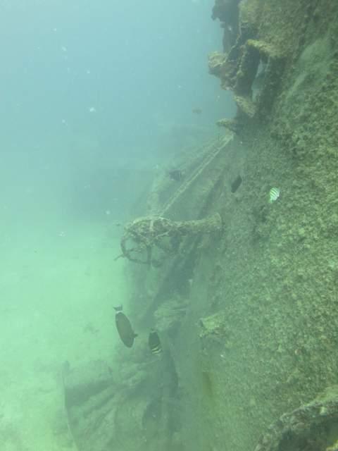 San Miguel Shipwreck