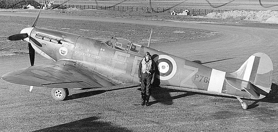 England Spitfire excavation