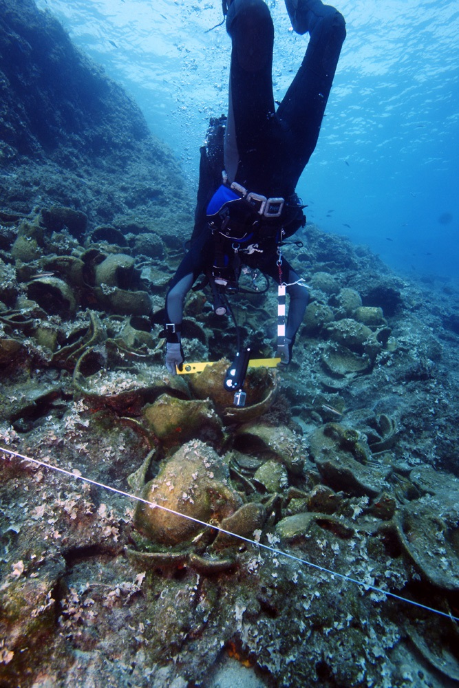 Greece Fourni shipwrecks