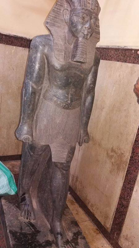 Egypt statue recovered