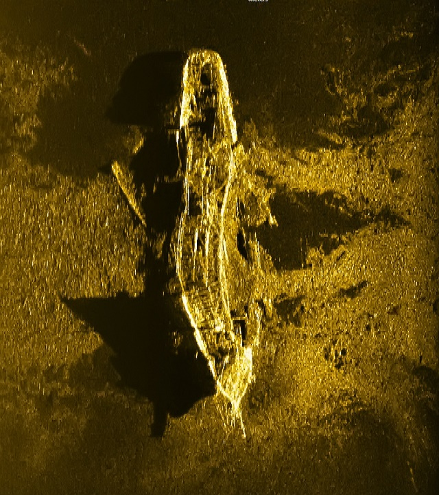 Indian Ocean shipwreck