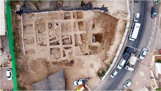 Israel Canaanite fortress
