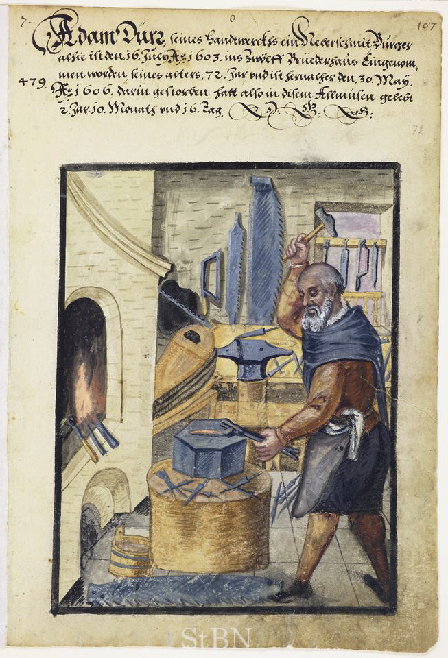 Language folktales blacksmith