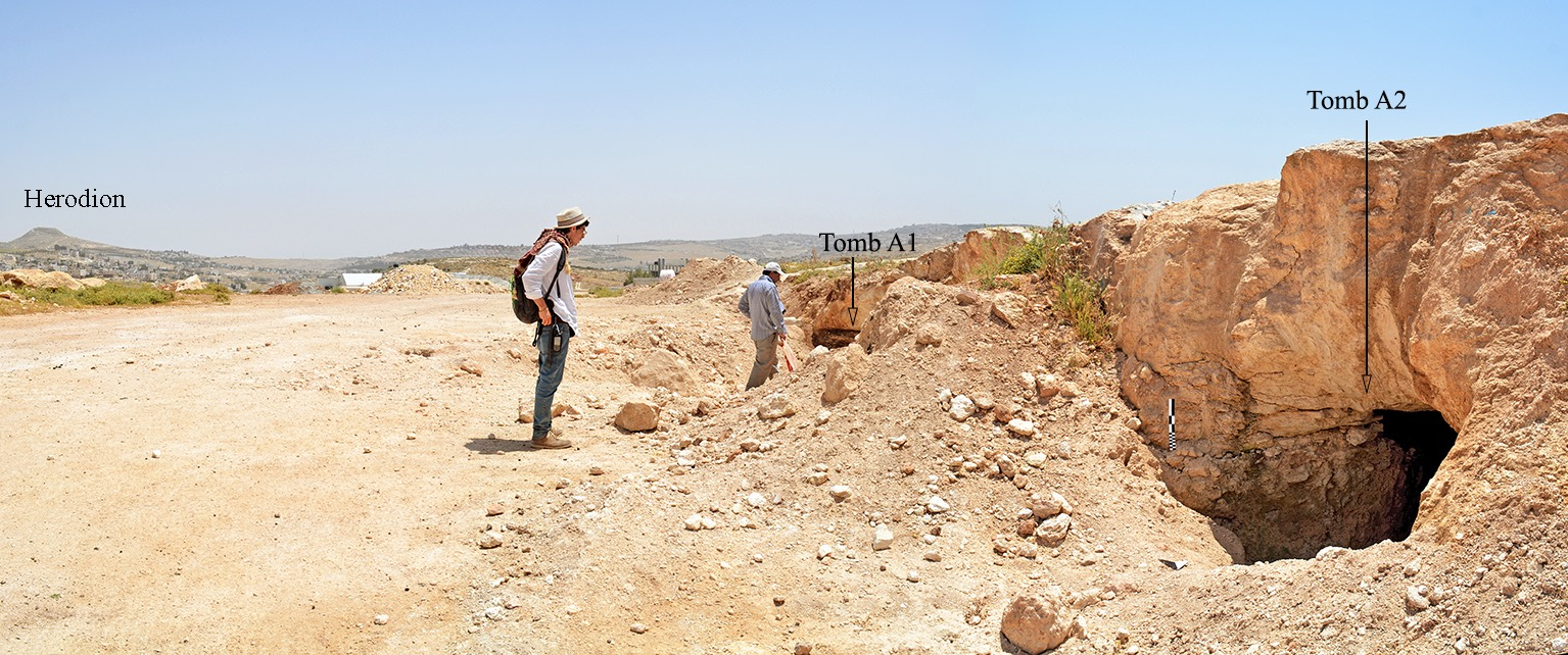 Bronze-Age Cemetery Discovered Near Bethlehem