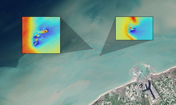 Landsat coastal shipwrecks