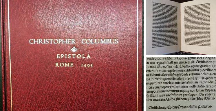 Columbus letter returned
