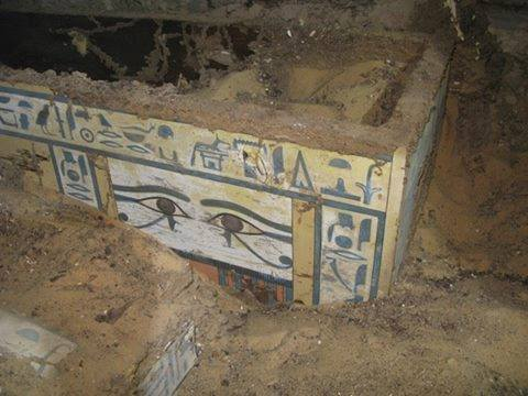 Egypt Aswan Coffin