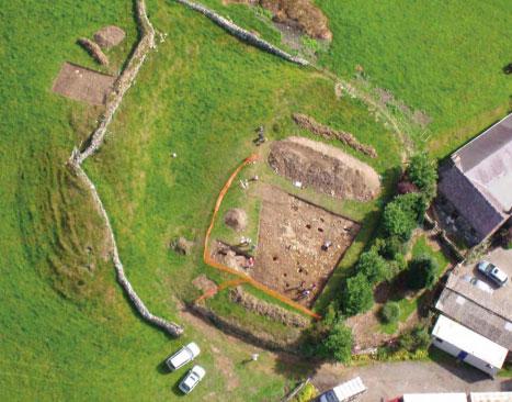 Wales Castle Excavation