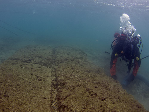 Ship Sheds of Ancient Naval Bases Found in Greece