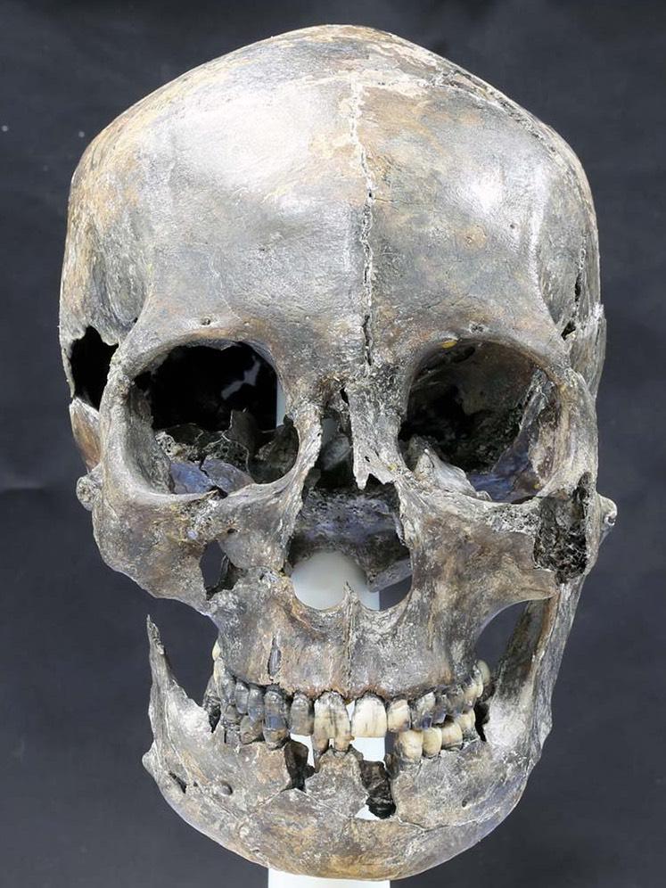 Korea Silla skull