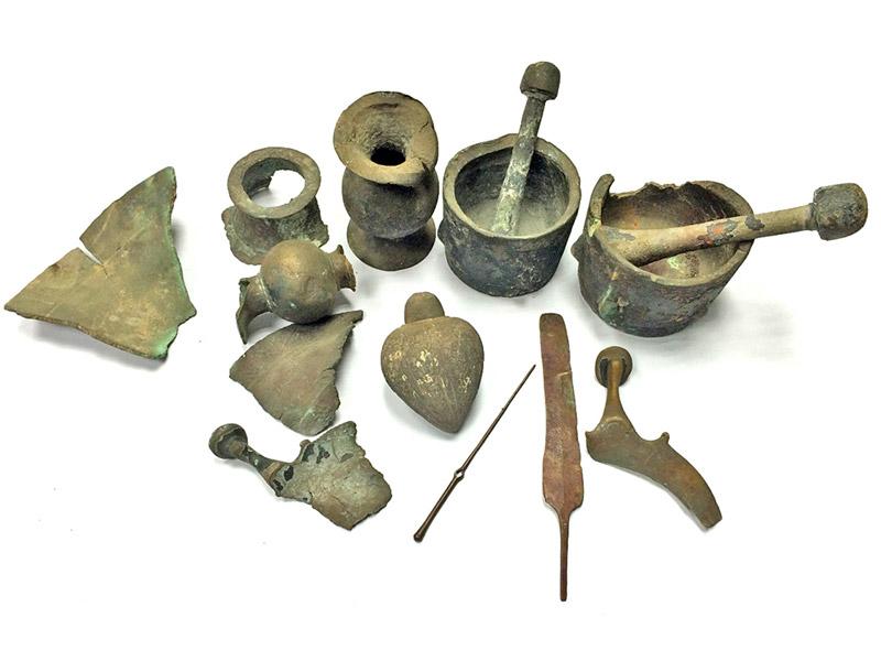 Israel metal artifacts