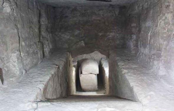 Luxor granite sarcophagus